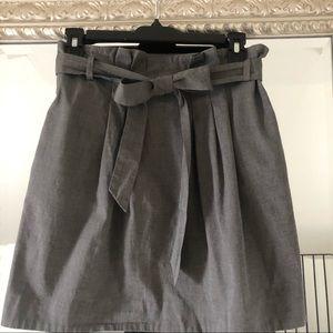 Theory Bergdorf Goodman Gray Skirt
